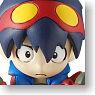 Gurren-lagann We`re Mini Gurren Team Figure Strap Shimon (Anime Toy)