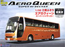 Mitsubishi Fuso Aeroqueen Super Hi-decker Catalog Model (Finish Paint) (Model Car)