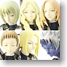 Solid Works Collection DX Claymore 10 pieces (PVC Figure)