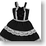 Helene Jumper Skirt (Black) (Fashion Doll)