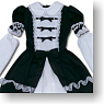 For 60cm Lil Princess One Piece (Black) (Fashion Doll)