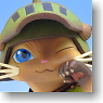 Game Character Collection DX Monster Hunter Portable 2nd G Otomo Airou Airou Ver. (PVC Figure)