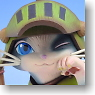 Game Character Collection DX Monster Hunter Portable 2nd G Otomo Airou Merarou Ver. (PVC Figure)