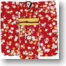 Hakama Set -Plum blossoms- (Red*Navy) (Fashion Doll)