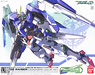 00 Raiser (00 Gundam + 0 Raiser) Designers Color Ver. (1/100) (Gundam Model Kits)