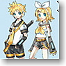 GSR Character Customize Series: Kagamine Rin/Len 1/24 Scale Decals 03 (Anime Toy)