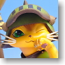 Game Character Collection DX Monster Hunter Portable 2nd G Otomo Airou Chatora Ver. (PVC Figure)