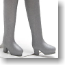 Long Boots Small (Silver) (Fashion Doll)
