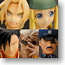 Fullmetal Alchemist Trading Arts Vol.1 6 Pieces (PVC Figure)
