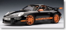 Porsche 911 (977) GT3 RS (black / orange stripes) (Diecast Car)