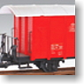 G Gauge Goods Van (Red) (for Big Scale RC) (Model Train)