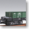 G Gauge Open Wagon (Green, 2-Car Set) (for Big Scale RC) (Model Train)