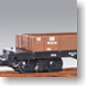 G Gauge Open Wagon (Brown, 2-Car Set) (for Big Scale RC) (Model Train)