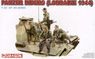 WWII German Panzer Riders (Lorraine 1944) (Plastic model)