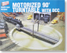 HO Scale Motorized 90` Turntable with DCC (Model Train)