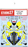 Decal for YZR M1 Tech 3 2005 (No.24) (Model Car)