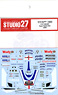 Decal for YZR M1 Tech 3 2008 (No.52) (Model Car)