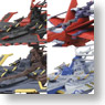 Cosmo Fleet Collection Super Robot Wars OG 4 pieces (Completed)