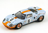Ford GT40 No.6 Winner LM 1969 J.Ickx J.Oliver (Diecast Car)