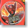 Kamen Rider OOO Digital Watch 6 pieces (Anime Toy)