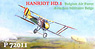 Hanriot HD.1 Belgian Air Force (Plastic model)