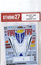 Decal for YZR-M1 (#46/#99/#8) (Model Car)
