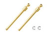OP1296 M-06 PRO 3~34mm Titanium Coated Ball Suspension Shaft (2 pieces) (RC Model)