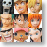 Super Modeling Soul One Piece Mugiwara Pirats -New World- 8 pieces (PVC Figure)