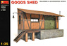 Goods Shed Diorama Accessory (Plastic model)