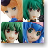 *FW Macross Frontier The Movie Nyannyan Heroines 2nd Stage 8 pieces (Shokugan)