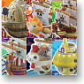 Yurakore Series One Piece Wobbling Pirates Ship Collection 3 6 pieces (PVC Figure)