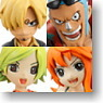 Half Age Characters One Piece Vol.3 8 pieces (PVC Figure)