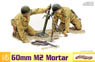U.S. M2 Mortar & M1 Garand Rifle (Plastic model)