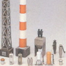 Factory Attachment Equipment C (Unassembled Kit) (Model Train)