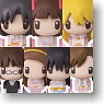 Chara Fortune The Idolmaster (Part1) 18 pieces (PVC Figure)