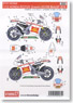 Decal for RC212V Gresini #33/58 MotoGP 2010 (Model Car)