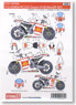 Decal for RC212V Gresini #7/58 MotoGP 2011 (Model Car)