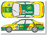 Decal for BP Civic 1994 (Model Car)