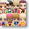 Chara Fortune Plus Series Tiger & Bunny Hero Fortune! Today`s heroes are doing? 18 pieces (PVC Figure)