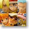 Chess Pieces Collection R One Piece Vol.1 9 pieces (PVC Figure)