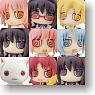 Cutie Figure Mascot Puella Magi Madoka Magica 9 pieces (PVC Figure)