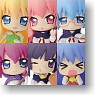 Nanokore Series The Familiar of Zero F Collection Figure 8 pieces (PVC Figure)