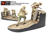 U.S. Marines Infantry Pacific w/Base (2figures) (Plastic model)