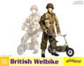 WW.II German Bicycle & Panzerfaust 60 (Plastic model)