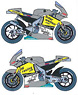 HONDA RC212V INTERWETTEN #7 MotoGP 2010 Decal (Model Car)