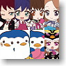Nendoroid Plus Trading Rubber Straps: Mawaru Penguindrum 10 pieces (Anime Toy)