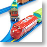 Chuggington Plarail Wilson and Calley with Freight Cars Set (9-Car Set) (Plarail)