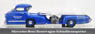 Mercedes-Benz Race Car Transporter `Blue Wonder` (Diecast Car)
