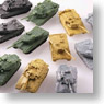 World Tank Museum Kit Actually-used tank Vol.1 12 pieces (Plastic model)