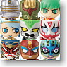 Chara Fortune Plus Series Tiger & Bunny Wild Hero Fortune 20 pieces (PVC Figure)